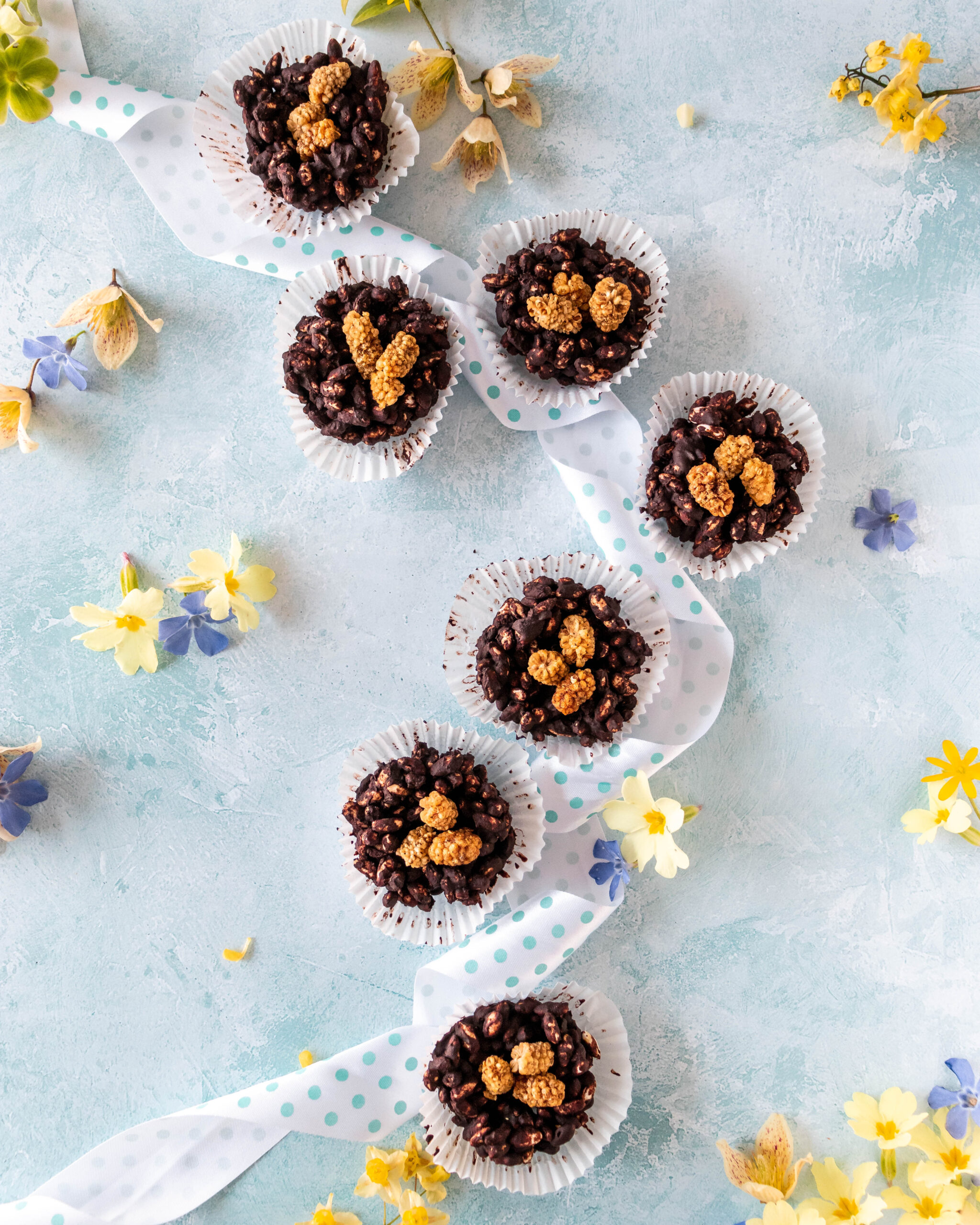 Healthy Dairy and Gluten Free Chocolate Nest
