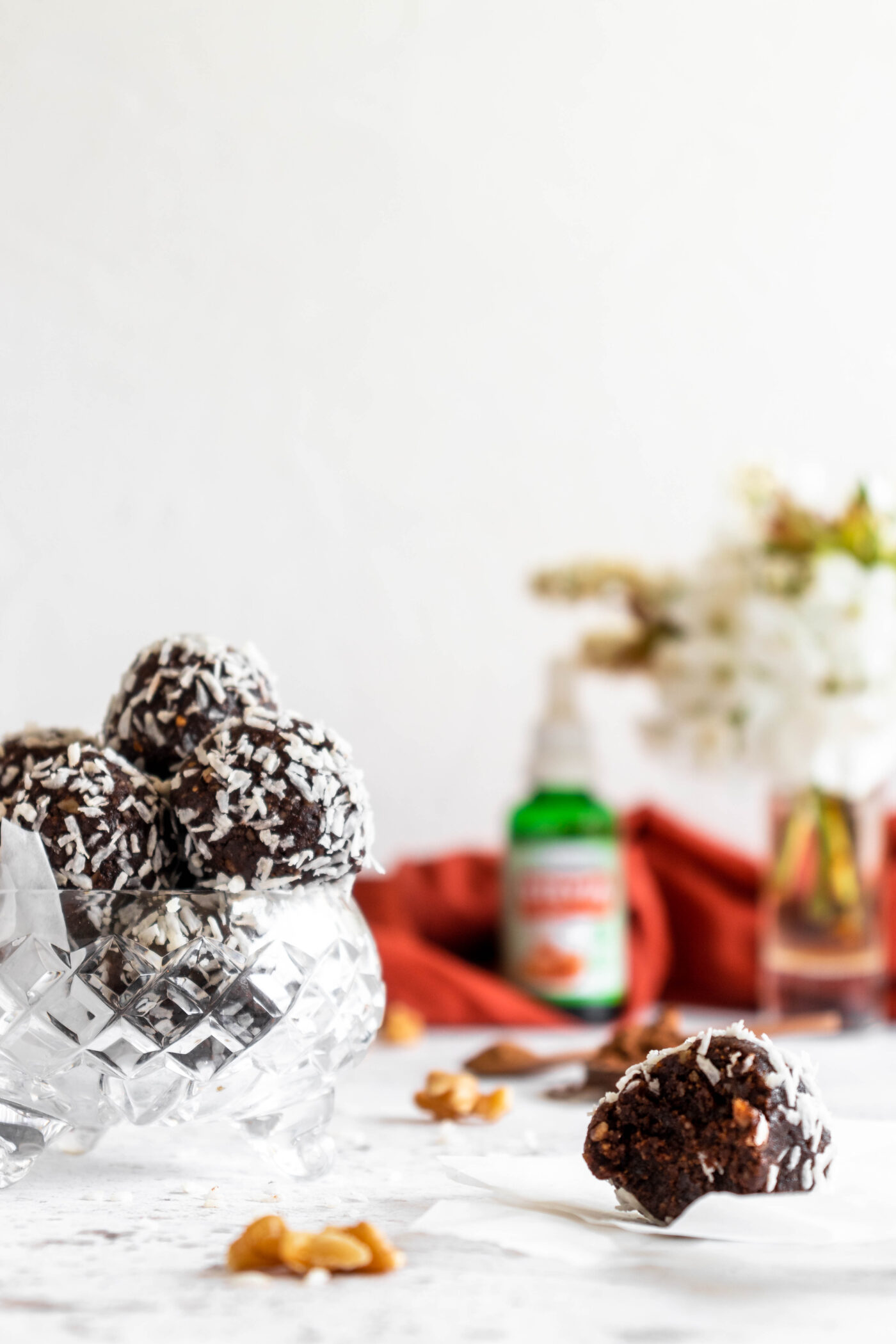 Healthy Brownie Bliss Balls
