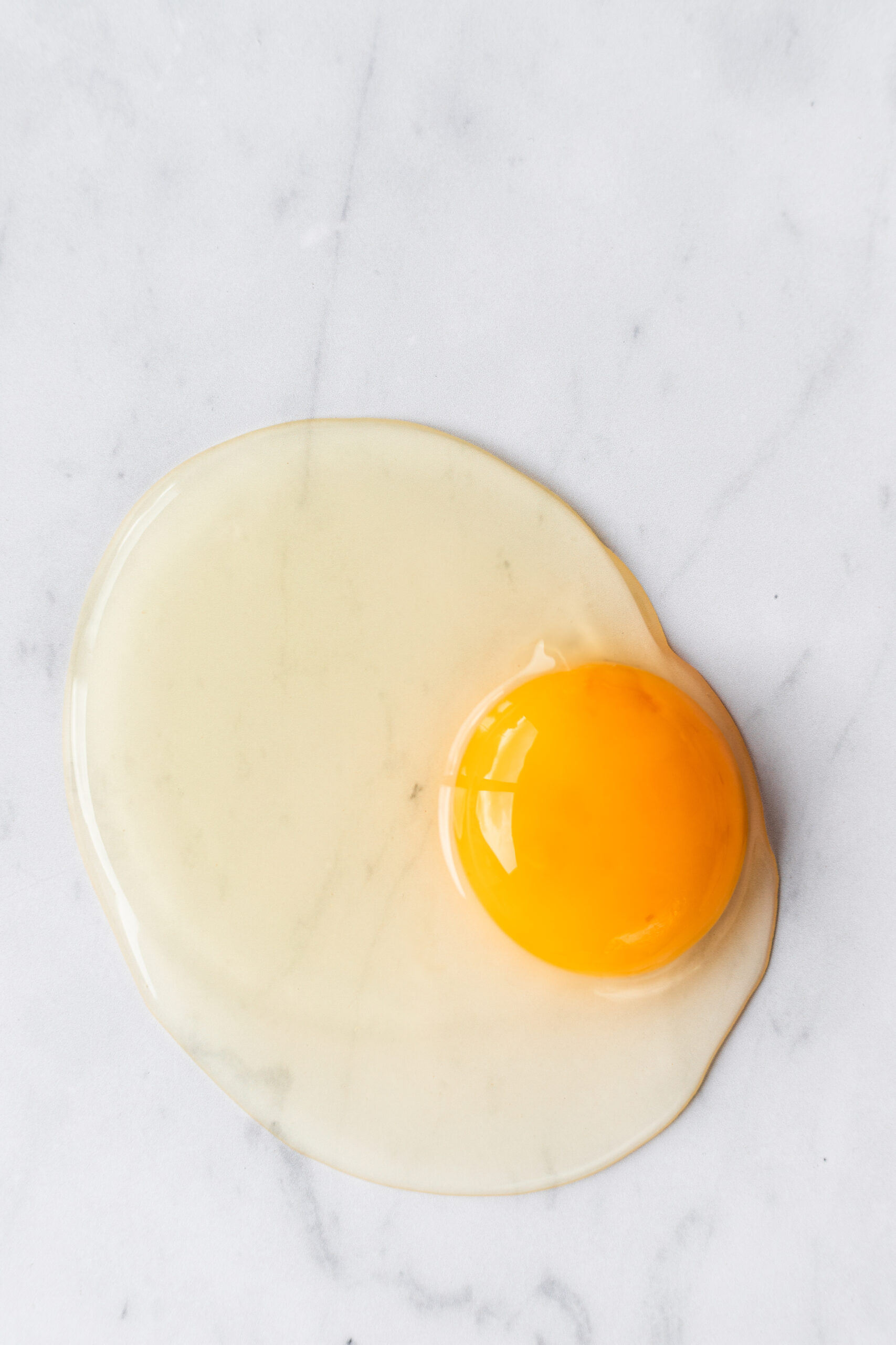 Raw Egg, Elle Frizzell Food Photography